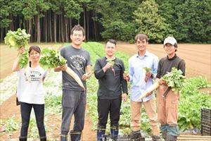 年に2回の収穫を迎える自家有機農場!