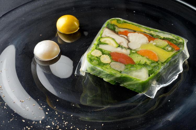 野菜だけのテリーヌ・プレッセ