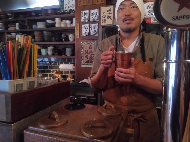 日本酒は近畿の地酒を専門に扱っています