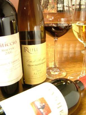 月替りのおすすめグラスワイン