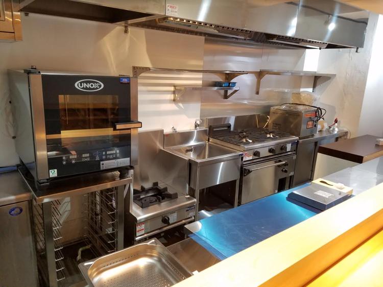 厨房は最新設備を導入!