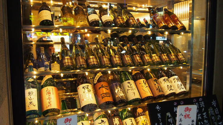 ♡デートにも使えるお酒の豊富な寿司屋です