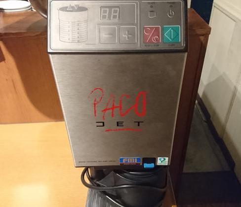 パコジェットや低温調理機も使用してます!