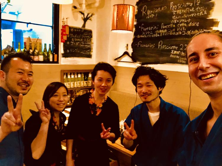 ワインと日本酒  Le Ginglet