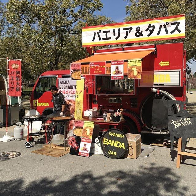 消防車キッチンカーでイベント出店も多数!