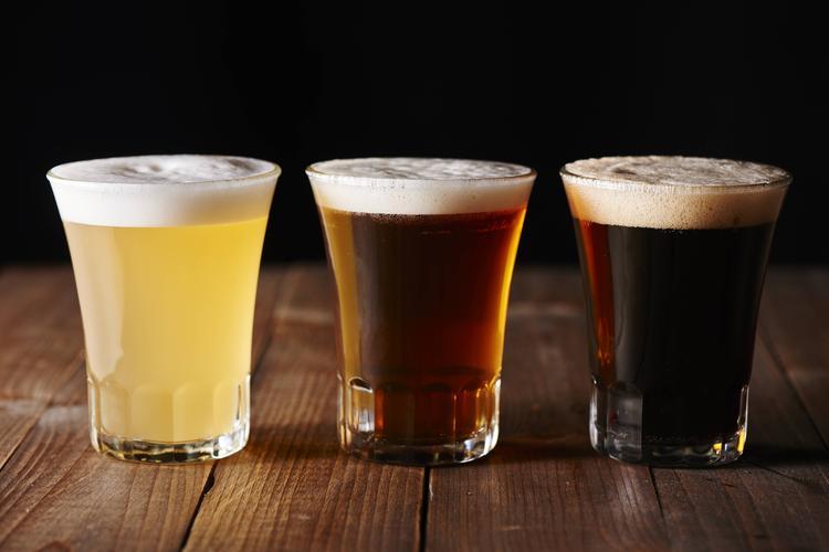こだわりのビールを飲み比べ♪
