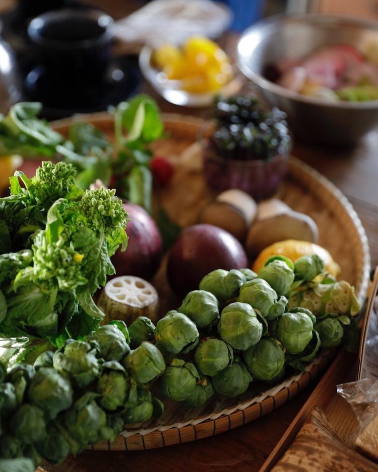 季節のこだわり野菜たっぷり
