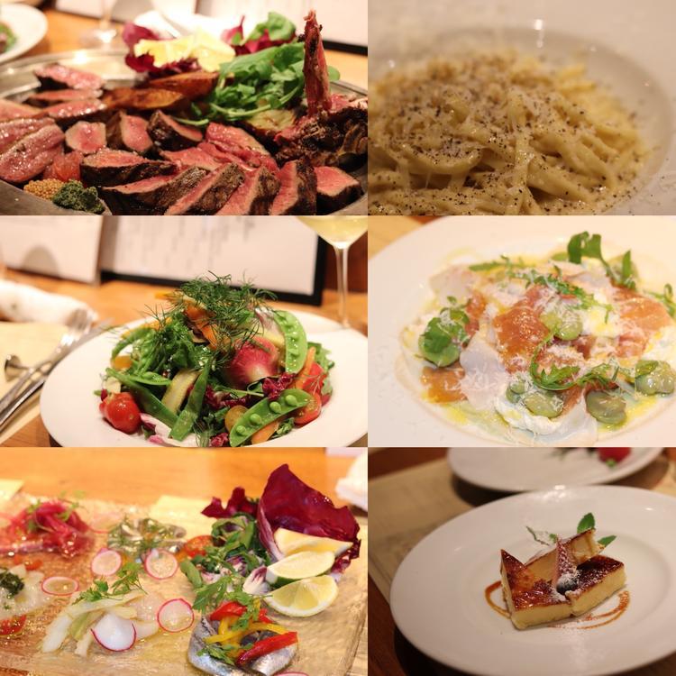 イタリアの素材、調理方を大事に
