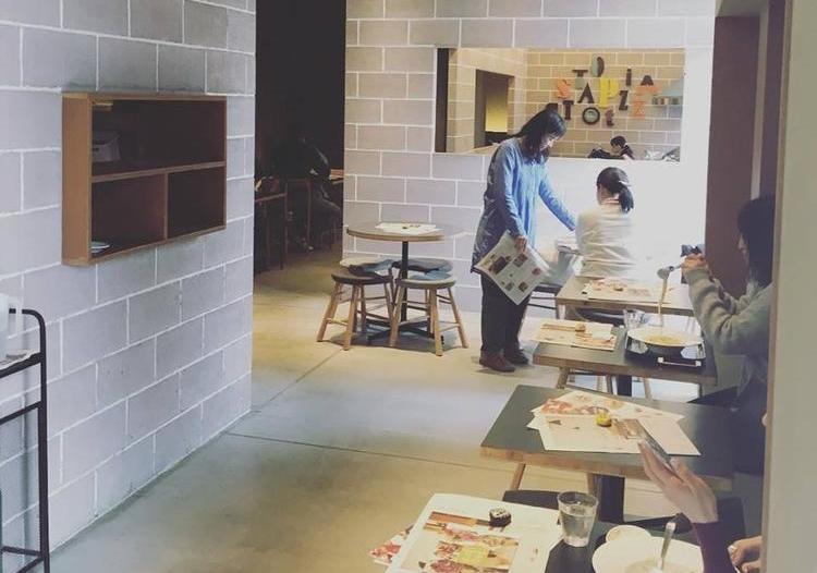 食堂カフェ potto 都島店