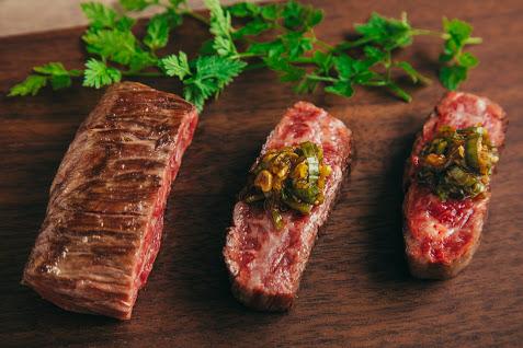 最高級のお肉を使用した一品