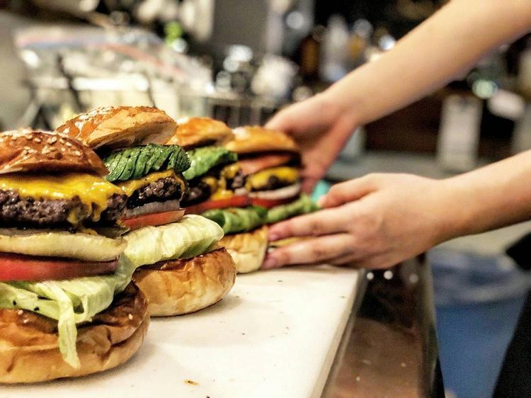 ハンバーガーは可愛く!!