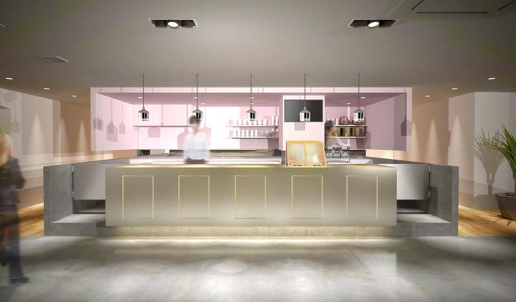 キッチンはオープンキッチンで開放的