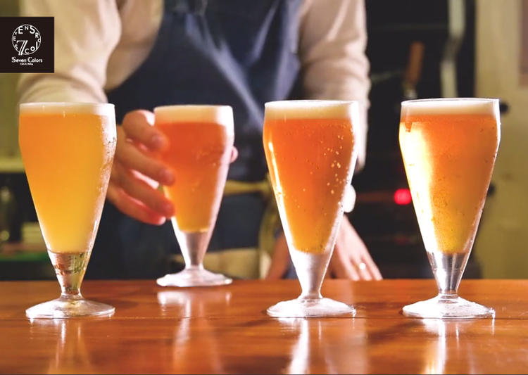 世界中のクラフトビールがウリ!!