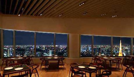 東京タワーとスカイツリーが見える絶景