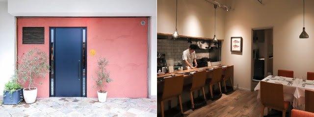 エントランスとオープンキッチン
