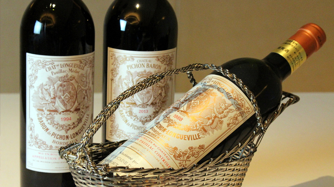 至高の一皿に合わせて創造広がるワイン