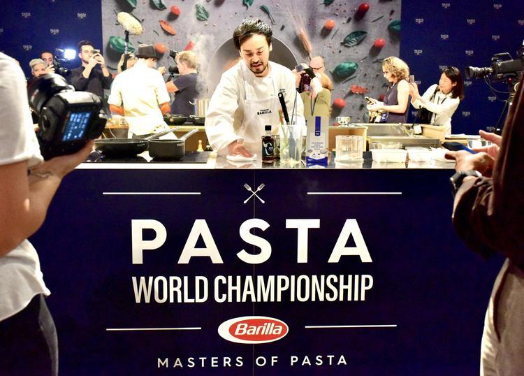 ミラノのパスタ世界大会