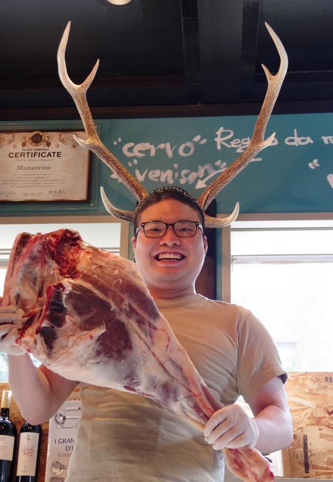 北海道から届く蝦夷鹿とボストロール!