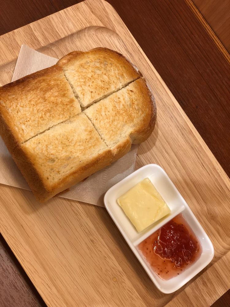 松屋限定 こだわりの厚切りトースト