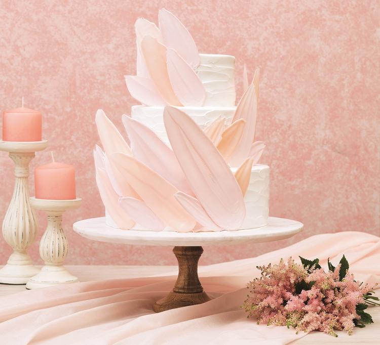 ウエディングケーキもオリジナルデザイン