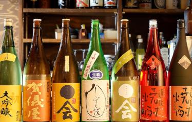 厳選した日本酒と焼酎