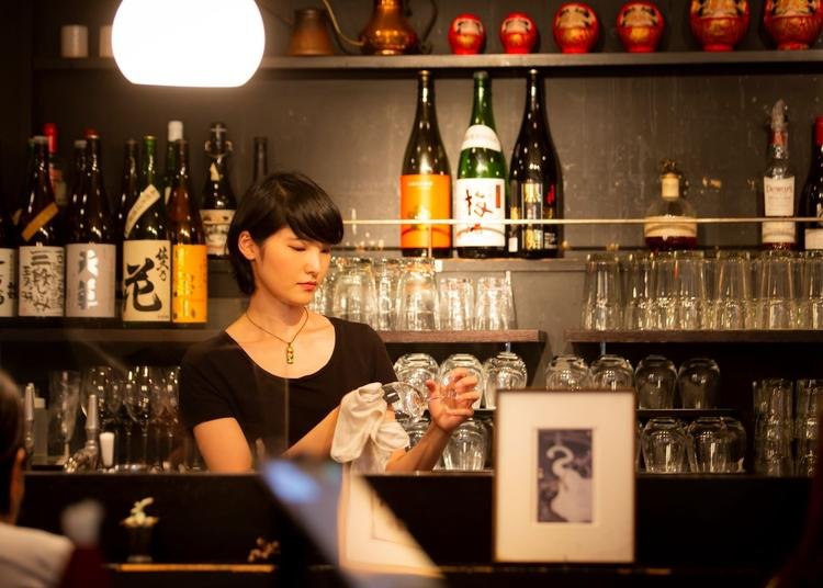 信州の地酒をはじめ酒類が豊富です