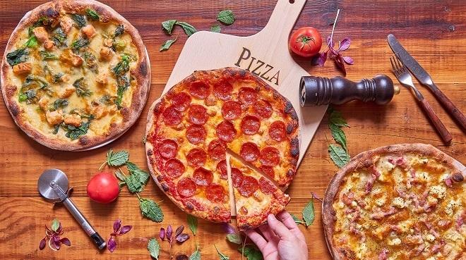 人気のカリフォルニアピザ