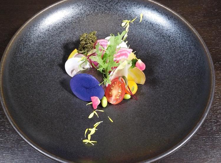 鎌倉野菜等を多く取り入れた前菜