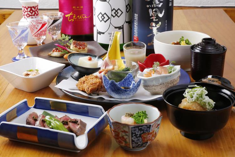 四季折々の季節の和食をご提供。
