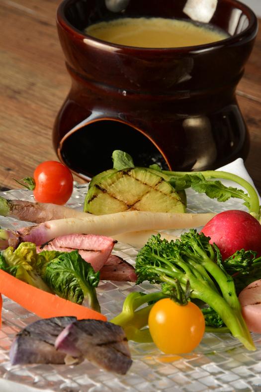 朝どれ鎌倉野菜のバーニャカウダ