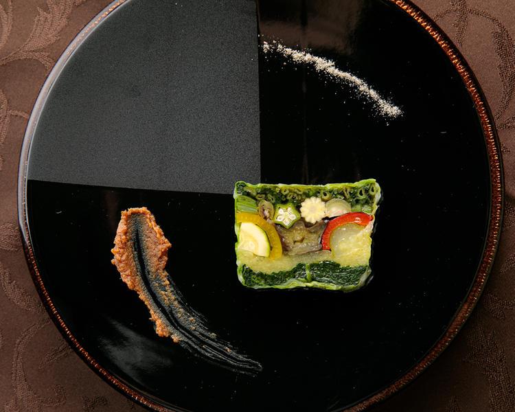 野菜づくしの特製レギュームテリーヌ
