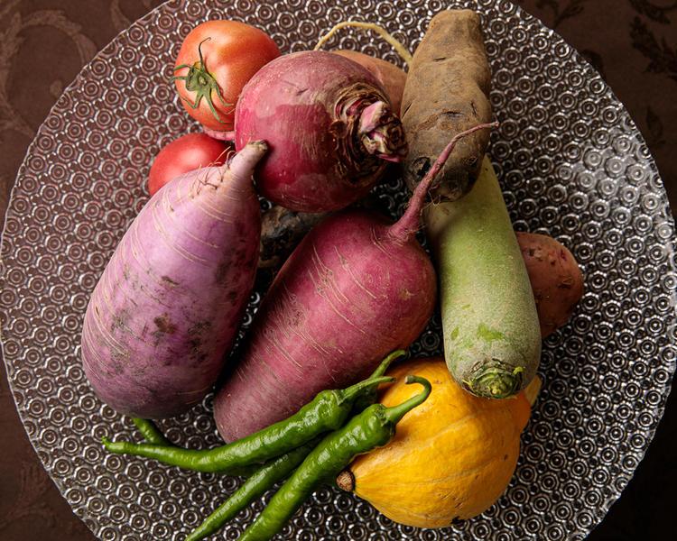 三浦の農家さんから直接頂く新鮮野菜の数々