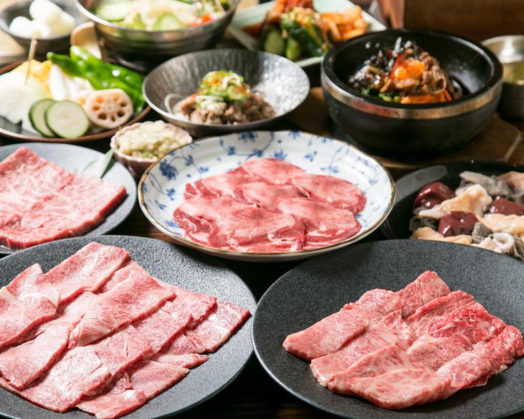見た目の美しい料理の数々