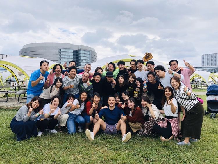 年4回の行事(花見/海/BBQ/新年会)