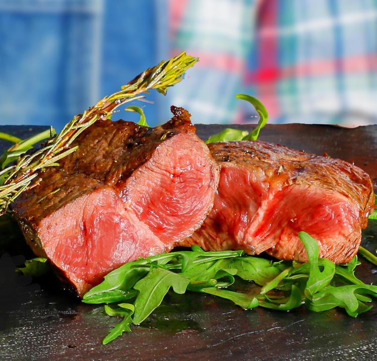 赤身肉を中心としたお料理