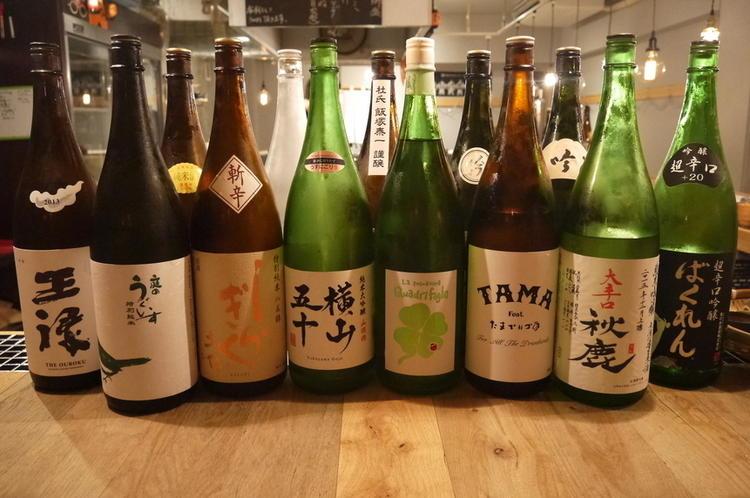 九州や沖縄の日本酒と焼酎を中心に◎