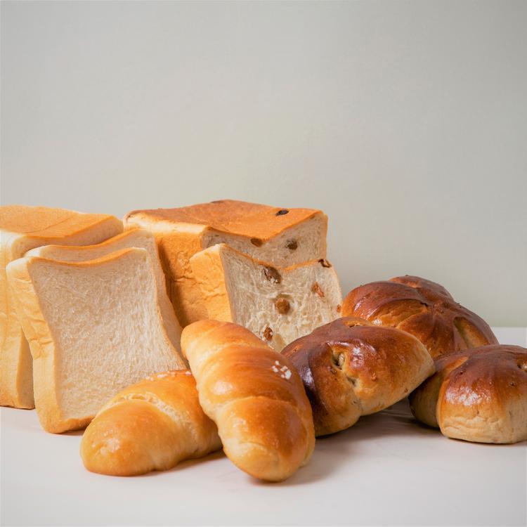人気の食事パン 塩ロール・湯種食パン