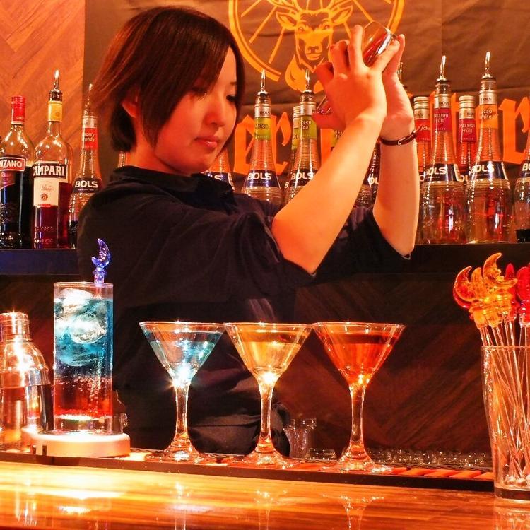 200yen barmoonwalk茶屋町店