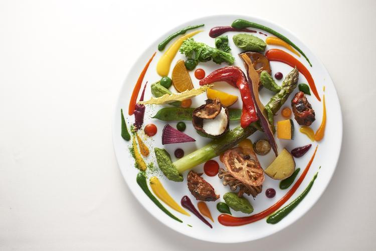 スペシャリテ 『野菜の遊園地』