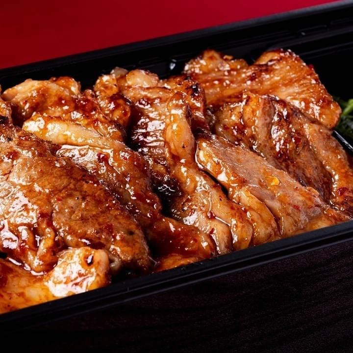 肉山の焼肉弁当