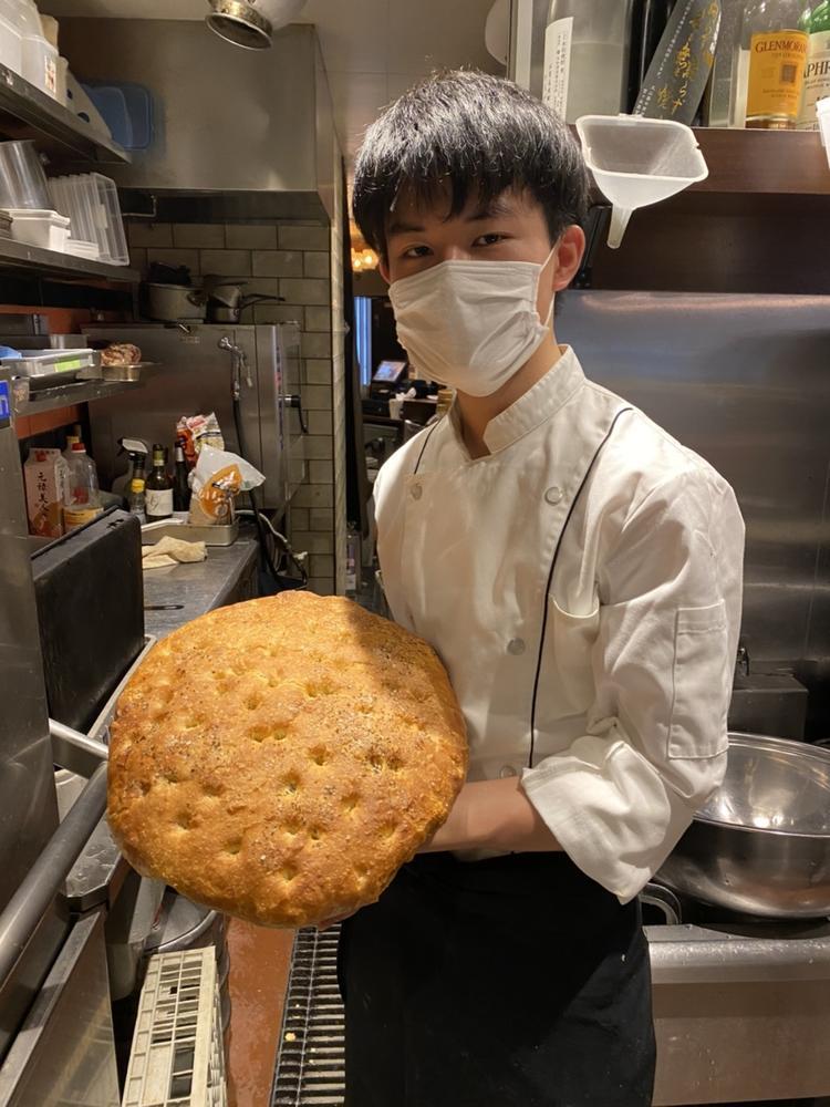 パンも毎日、自家製!