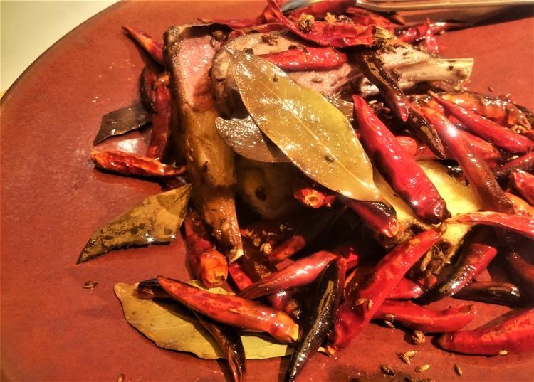 王道の四川料理もあります。