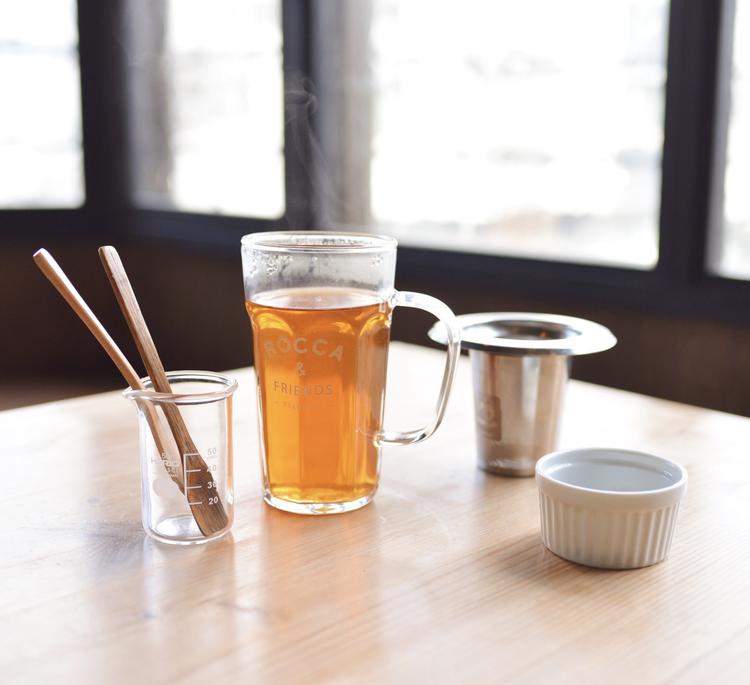 オリジナルブレンドの紅茶
