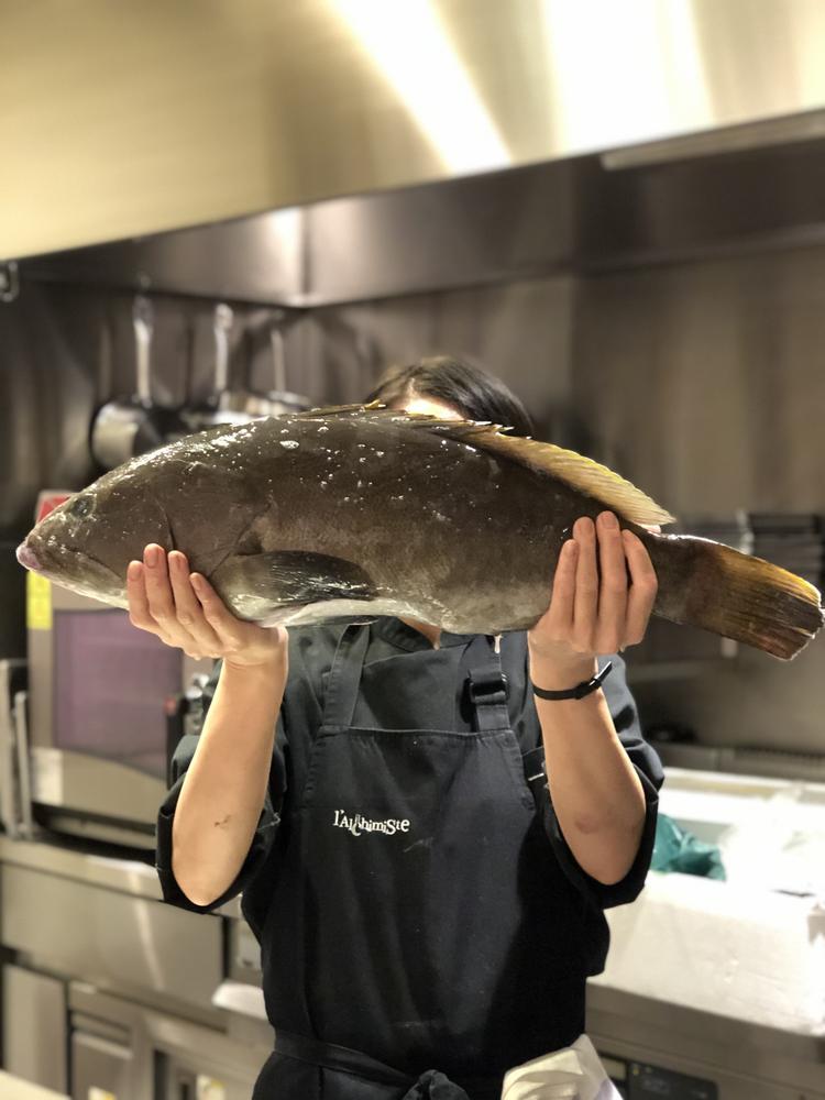 五島列島から直接仕入れる魚