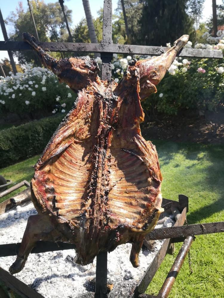 チリでは豪華BBQ