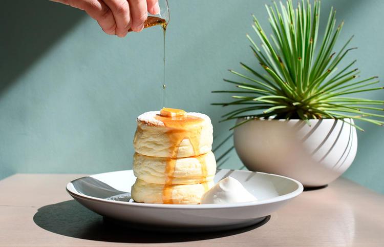 イチオシのリコッタチーズパンケーキ!