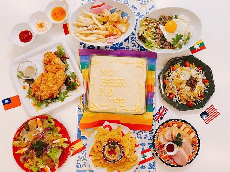 世界の料理が日替わりで楽しめます♪