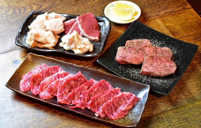 新鮮なお肉を扱っています。