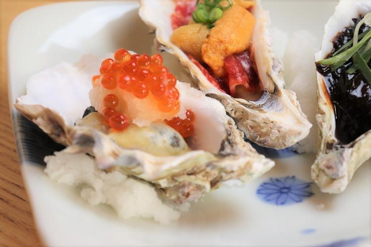 こだわりの新鮮な牡蠣