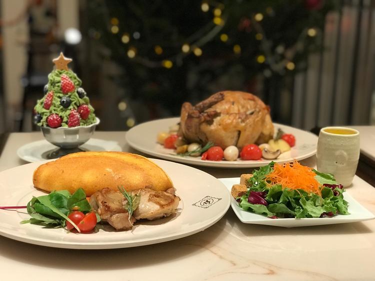 クリスマスの時のコース料理